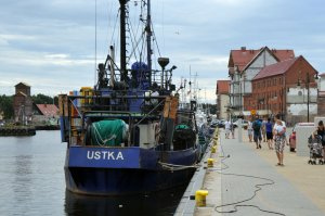 Port w Ustce