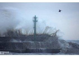 Piękny sztorm w Ustce, fot. Monika Lesner- Mączyńska