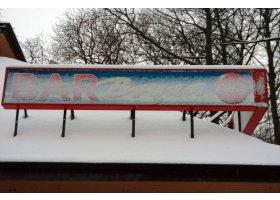 Ustka w śniegu, fot.SAS