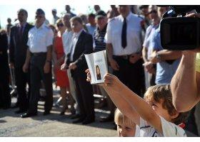 Odsłonięcie ławeczki Ireny Kwiatkowskiej, fot.SAS