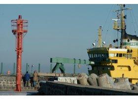 Pogłębianie Portu Ustka, fot.SAS