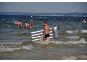 plaża w Ustce, fot.SAS