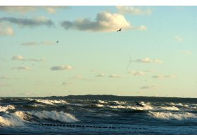 Jesienne morze, fot.SAS