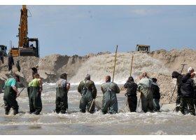 Refulacja plaży w Ustce, fot.SAS
