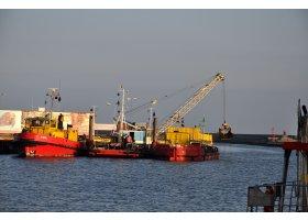 Pogłębianie portu, fot.SAS