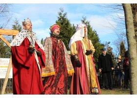 Orszak Trzech Króli przeszedł ulicami Słupska, fot.W.Wolski