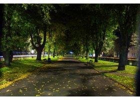 Ustka nocą, fot.Mariusz Surowiec