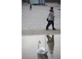 ostatnie dni lutego w Ustce, fot.M.Surowiec