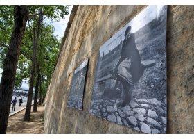 Wystawa prac R.Nowakowskiego w Paryżu, fot.SAS