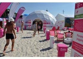 TVN projekt plaża w Ustce