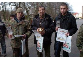 Noworoczny połów troci w Słupsku, fot.SAS