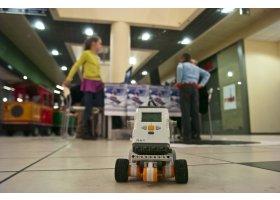 WOŚP 2013 w Galerii Słupsk- pokaz edurobotów, fot.SAS
