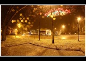 Ustka nocą, fot. Mariusz Surowiec