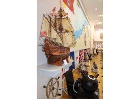 Sala Tradycji w Centrum Szkolenia Marynarki Wojennej, fot.W.Wolski