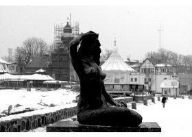 Czarno-biała Ustka, fot.SAS
